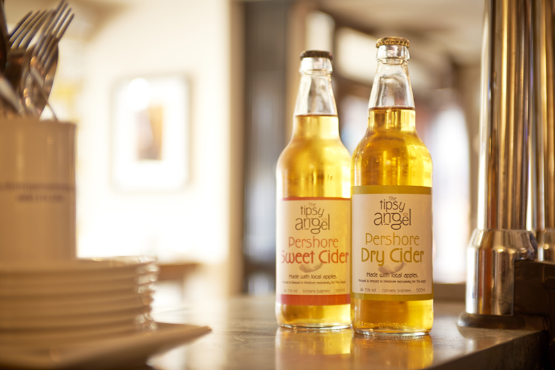 Tipsy Angel Cider, locally produced cider