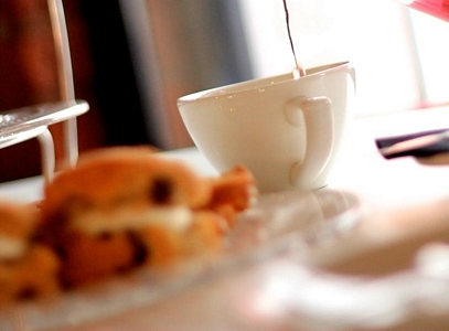 Afternoon Tea at The Angel Hotel, Pershore